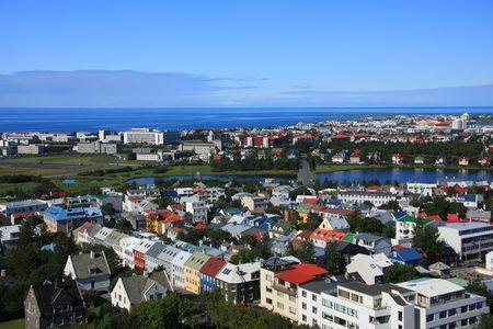 reykjavik: Downtown Reykjavik, Iceland.