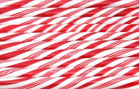 Candy cane achtergrond Stockfoto