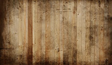 vintage timber: Weathered cedar background panel.  Stock Photo