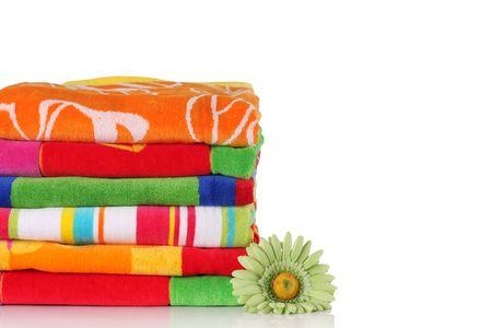 Summer beach towels.  photo