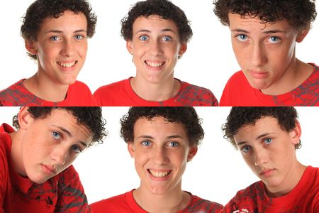 Six funny young men for the price of one!  photo