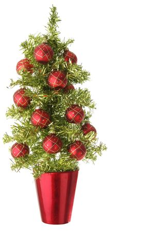 decoration: Pretty little Christmas tree.