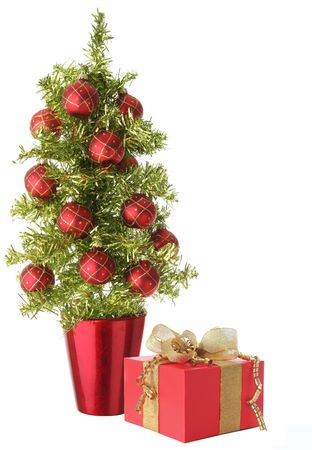 Pretty little Christmas tree. Stock Photo - 5822740