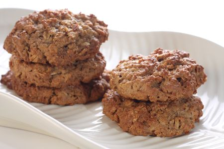 Nutritious oatmeal cookies. Stock Photo - 6430166