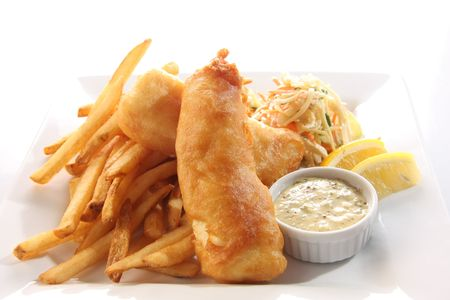 Fish and chips Stock Photo - 6517860