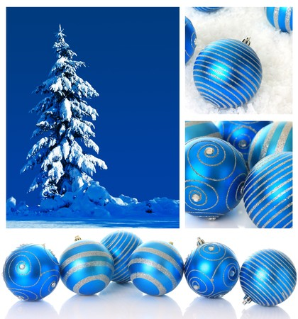 breakable: Blue Christmas collection