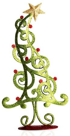 Contemporary Christmas tree ornament.  Stock Photo - 8101693