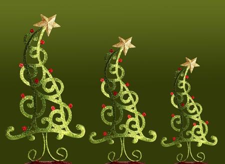 contemporary: Contemporary Christmas trees