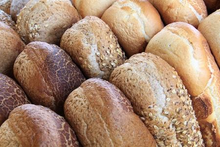 Assortment of bread loaves. Stock fotó
