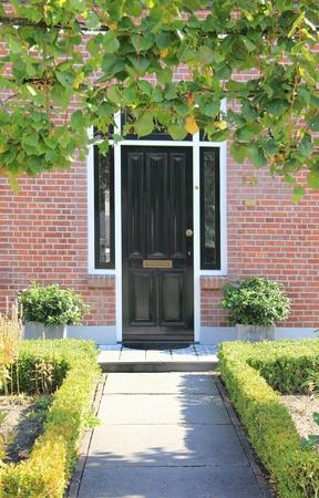 dutch: Dutch front door Stock Photo