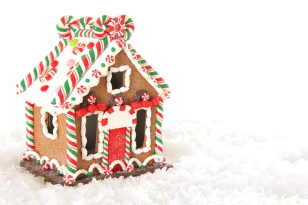 case colorate: Natale Gingerbread House