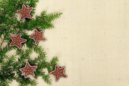 gingerbread: Christmas Gingerbread cookies background.