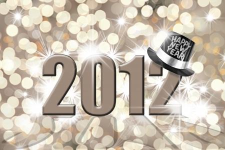 Happy new year 2012 photo