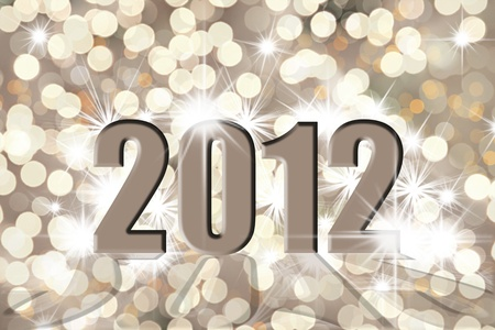 Happy new year 2012 Stock Photo - 11476678