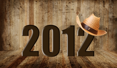 Western happy new year 2012 photo