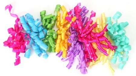 Happy birthday ribbon closeup Stock Photo - 12420863