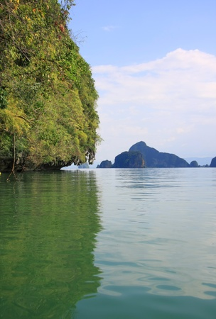 Islands in the Andaman sea off Phuket, Thailand   Stock Photo - 13014637
