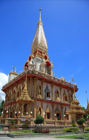 Wat Chalong, Phuket, Thailand  photo
