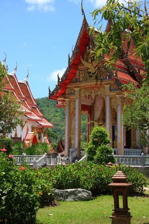 chalong: Wat Chalong, Phuket, Thailand
