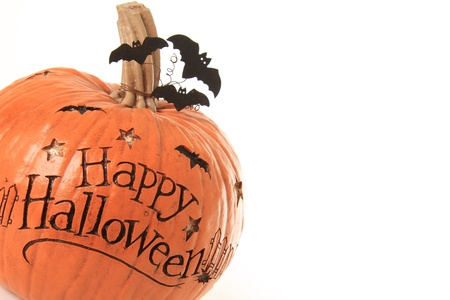 Happy Halloween pumpkin Stock Photo - 15422501