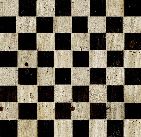 Vintage checkered chess board background. Stock Photo - 15630733