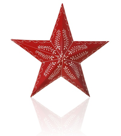 Hand painted Christmas star   Stock Photo - 16295516