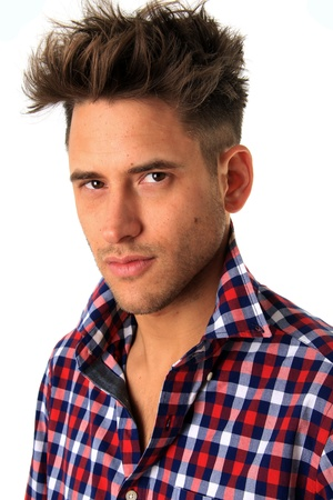 Portrait of a handsome young model Stock Photo - 17283500