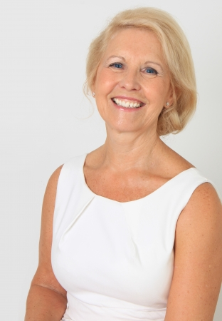 Attractive senior lady portrait