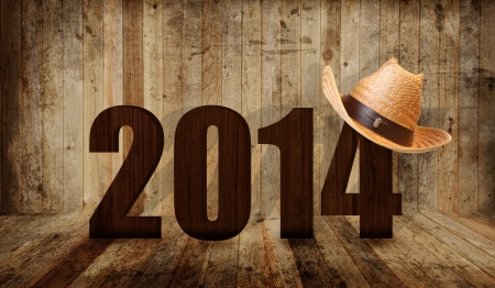 hat new year s eve: Western happy new year 2014