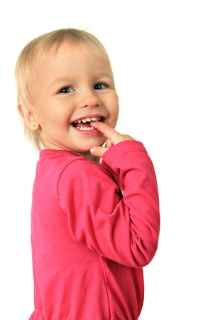 two year old: Happy smiling two year old girl   Stock Photo
