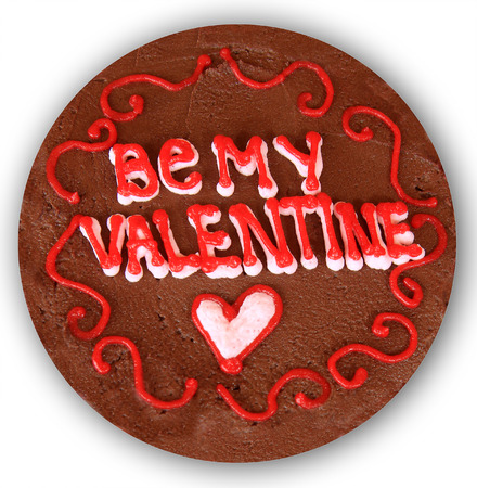 be: Valentines day chocolate cake. Be my valentine.