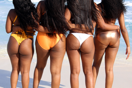 Young african bikini models — pic 14