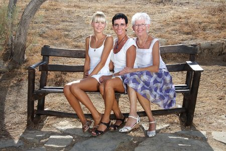 Three generations of female beauty Stock Photo - 3488832