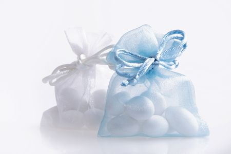 Just Married - wedding candy favors Stock Photo - 3561089
