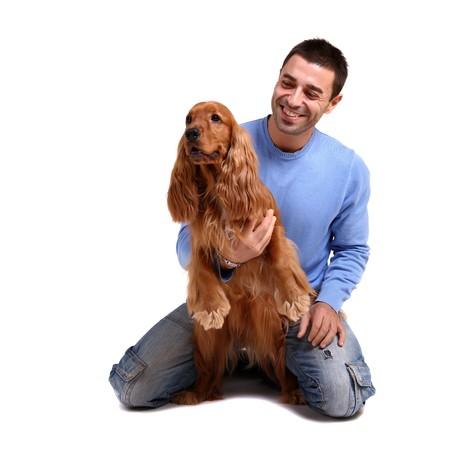 amigos abrazandose: el mejor amigo del hombre