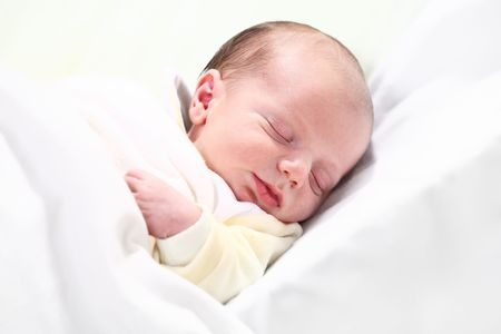 one week old baby Stock Photo - 4126813