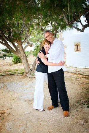 Mature couple in love Stock Photo - 5812585