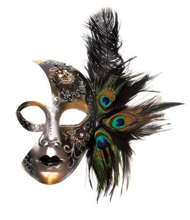 carnaval masker: Sierlijke carnaval masker  Stockfoto