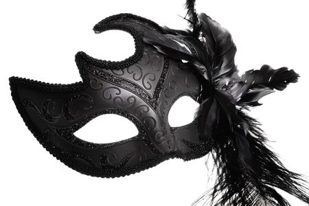 Ornate carnival mask photo