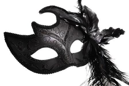 masquerade masks: Ornate carnival mask Stock Photo