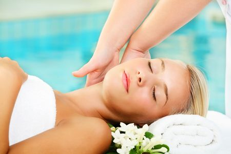 Young Woman In Spa Stock Photo - 6666214