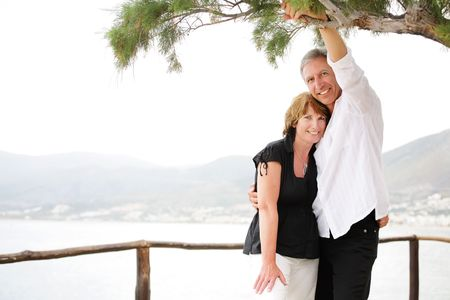 Beautiful mature couple Stock Photo - 6813873