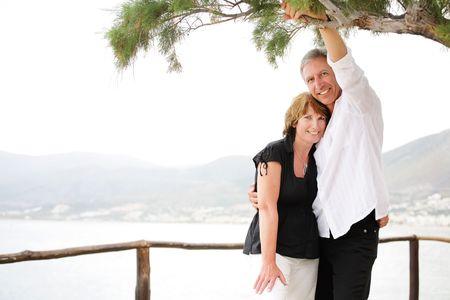 Beautiful mature couple photo