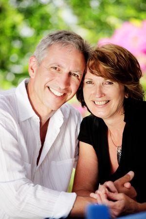 Beautiful mature couple