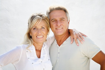 older person: Happy mature couple Stock Photo