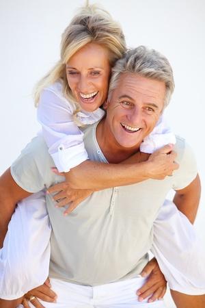 pareja madura feliz: Feliz pareja madura