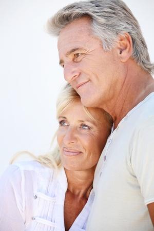 Heureux couple matures