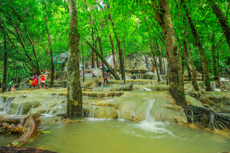 southern: The waterfall at Southeast Asia, Southern Thailand