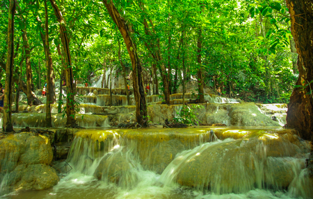 southeast asia: The waterfall at Southeast Asia, Southern Thailand