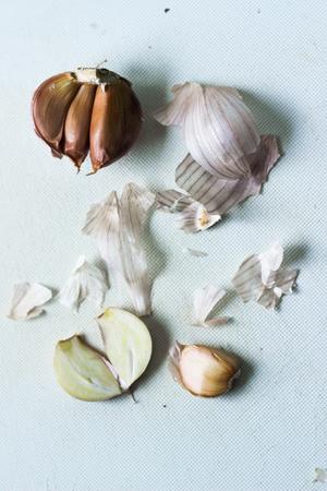 garlics: the vegetable of garlics Stock Photo